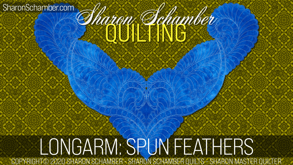 $8 Video Class - Longarm Spun Feathers - Remastered 2020