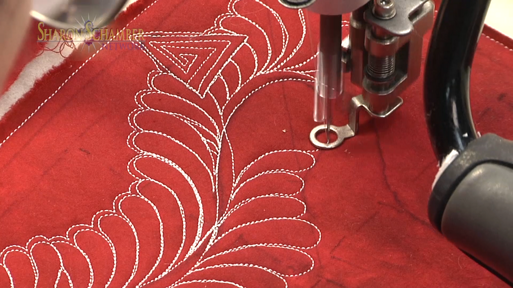 $8 Video Class - Longarm - Layered Feathers and Caveats