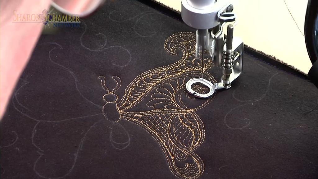 $8 Video Class - Longarm - Eastern Henna Stipples