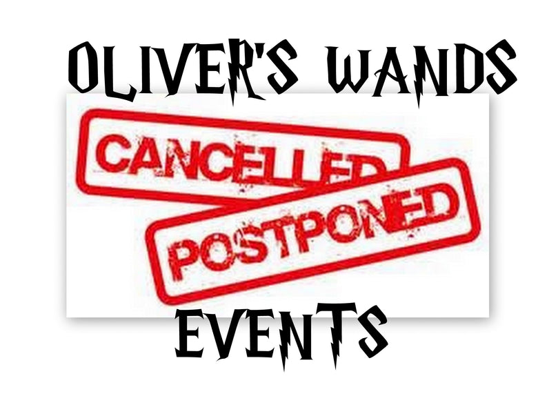 Postponed and Cancelled Events