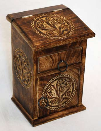 Tree of Life Witch's Herb Cabinet