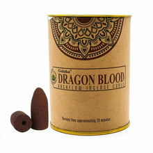 Load image into Gallery viewer, GOLOKA BACKFLOW DRAGON'S BLOOD INCENSE CONES