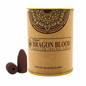 GOLOKA BACKFLOW DRAGON'S BLOOD INCENSE CONES