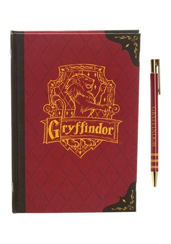 GRYFFINDOR JOURNAL AND PEN SET
