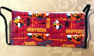HARRY POTTER GRYFFINDOR PRINT MASK