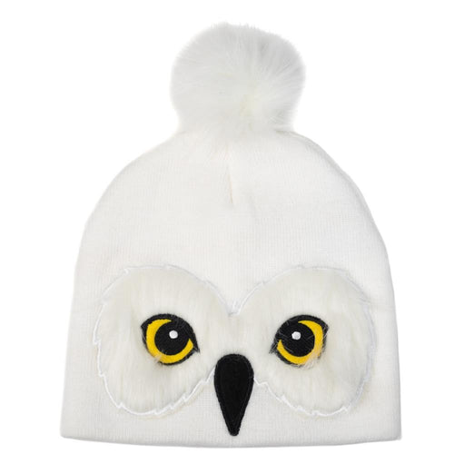Harry Potter Hedwig Owl Winter Hat for Adults