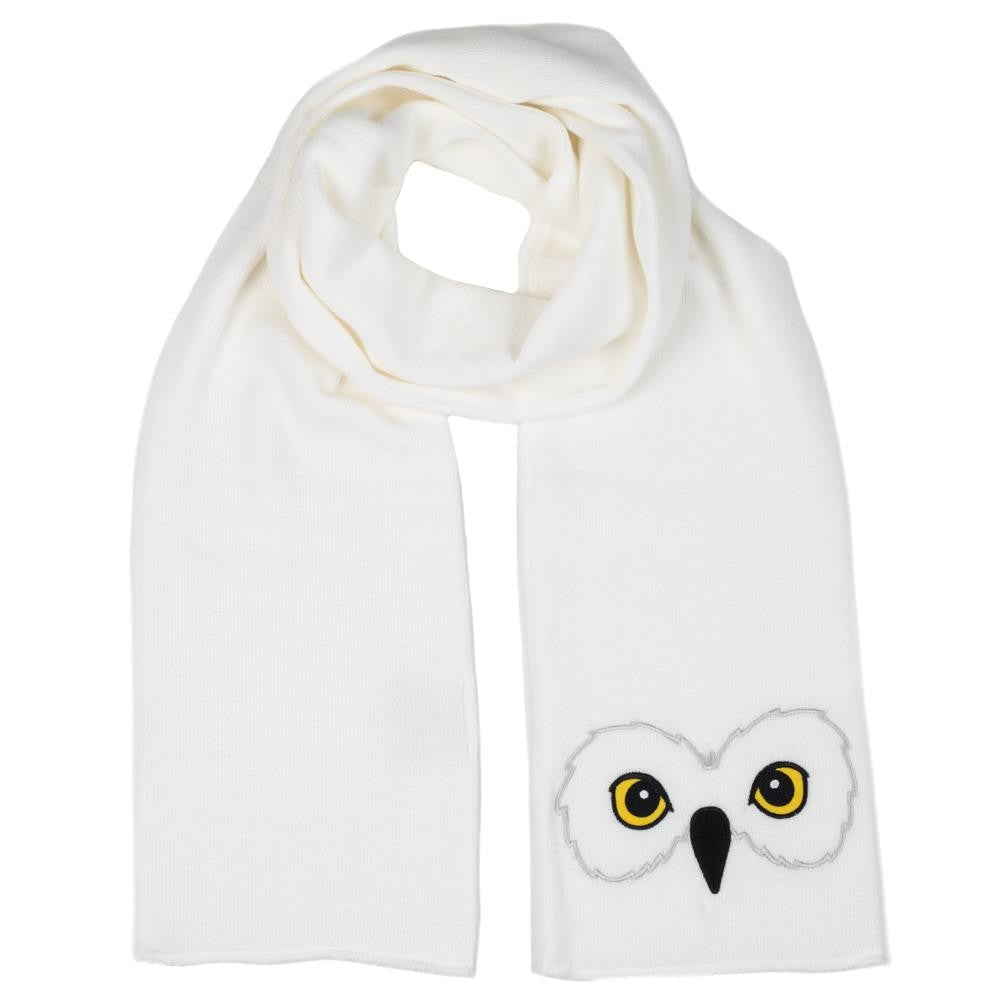 Harry Potter Hedwig Owl Winter Scarf for Adults