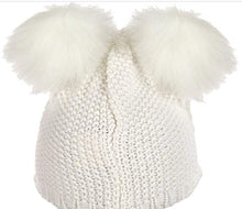 Load image into Gallery viewer, Harry Potter Hedwig Owl Pom Knit Beanie Hat for Toddler