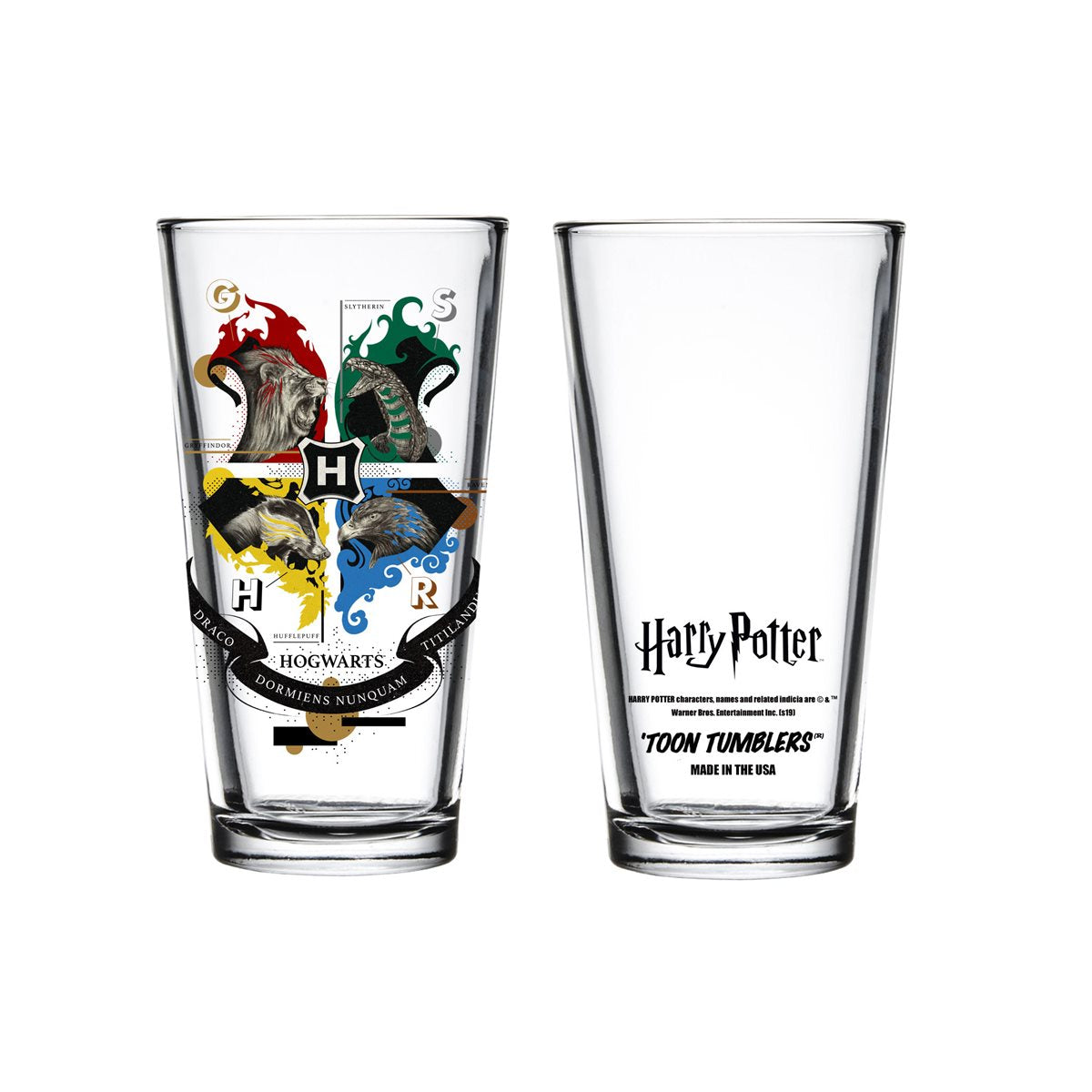 Hogwarts Crest Pint Glass