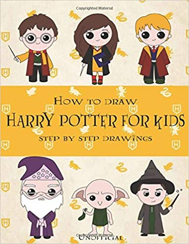 Harry Potter Drawing and Coloring Book