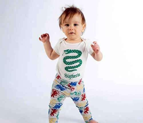 Harry Potter Slytherin Baby Clothes Combo Onesie  Infant Apparel-24Months