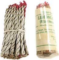 Tibetan Rope Incense: Lemon Grass