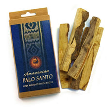 Load image into Gallery viewer, Palo Santo Raw Incense Wood - Premium Amazonian - 5 Sticks