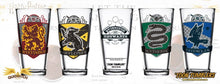 Load image into Gallery viewer, Hufflepuff Quidditch Pint Glass