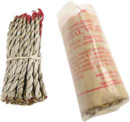 Tibetan Rope Incense: Sandal Wood