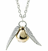Load image into Gallery viewer, Golden Snitch Necklace and Bracelet Set
