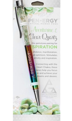 PEN-ERGY MIXED RAINBOW CRYSTAL PEN