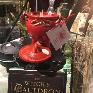 LOVE SPELL CAULDRON CANDLE