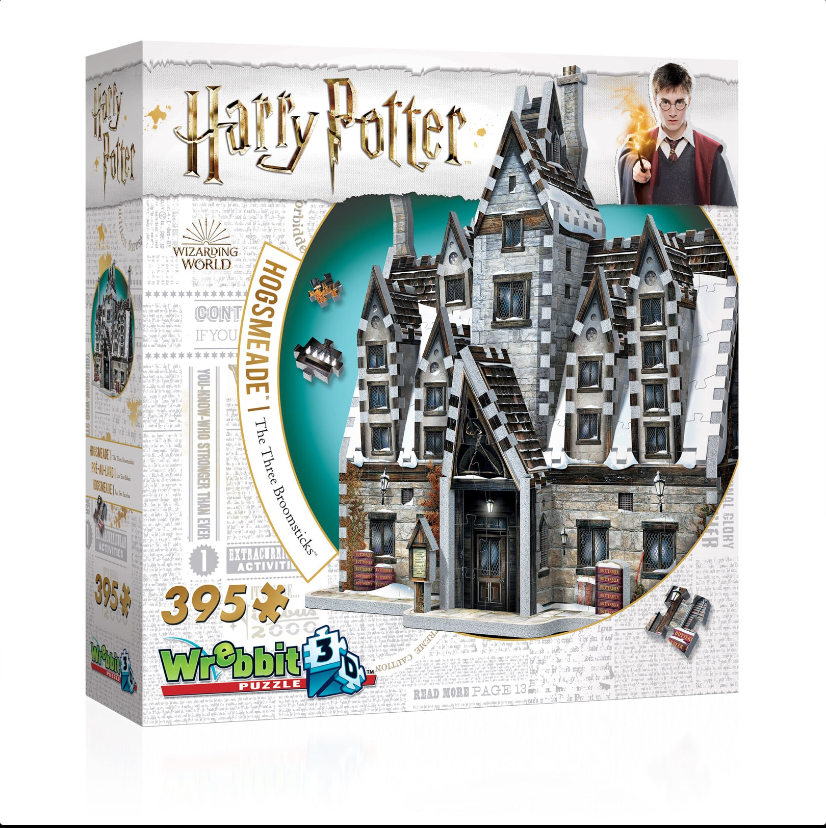 NEW! Hogsmeade™ – The Three Broomsticks™ 3D Puzzle