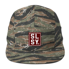 SLSY. Jockey Flat Bill Cap