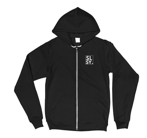 SLSY ZIPPED Hoodie sweater