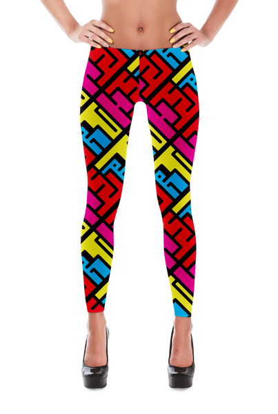THE 90'S IS BACK YOGA PANTS
