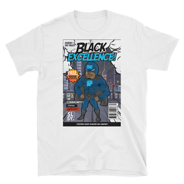 SLSY BLACK EXCELLANCE HERO TEE