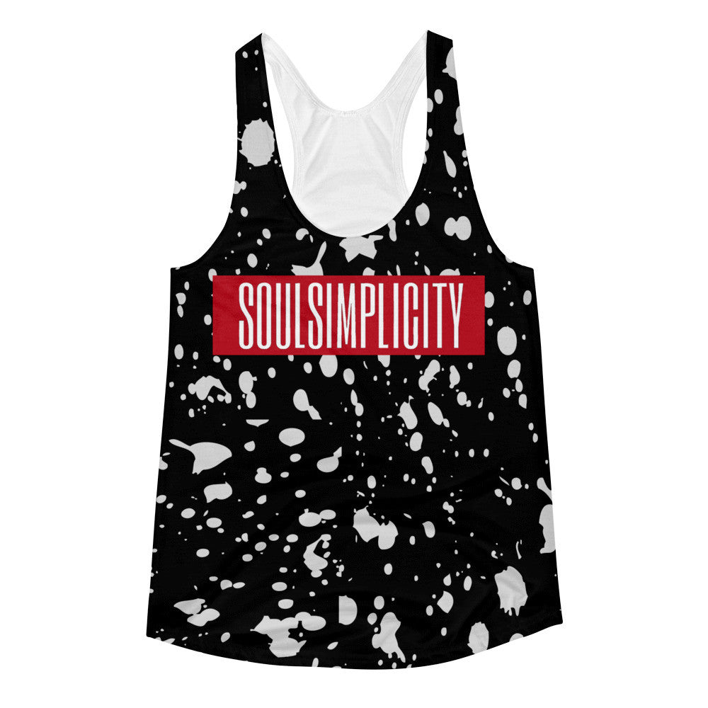 SPLATTER WOMENS TANK