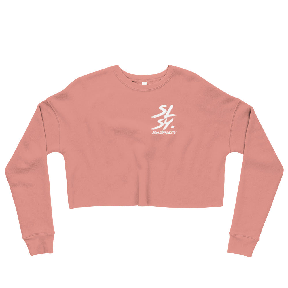 SLSY Women Long sleeve Crop Sweater