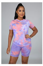 So Chill Tye Dye - Pink