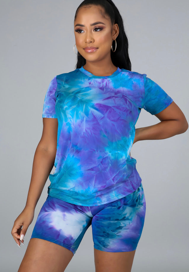So Chill Tye Dye - Blue