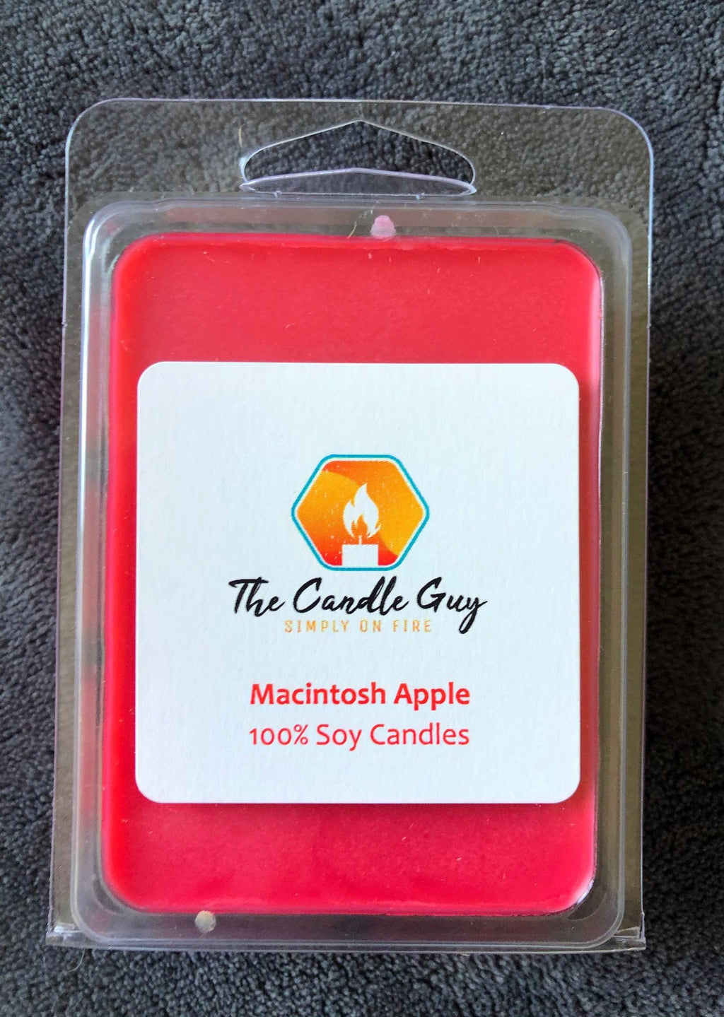 Macintosh Apple Wax Melt - The Candle Guy LLC