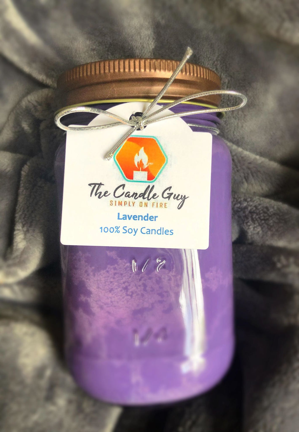 Lavender 16 Oz. Jar Candle - The Candle Guy LLC