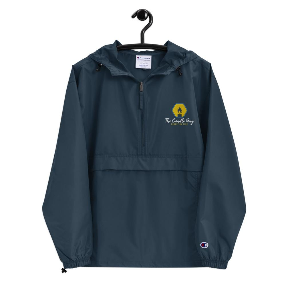 Embroidered Champion Packable Jacket - The Candle Guy LLC