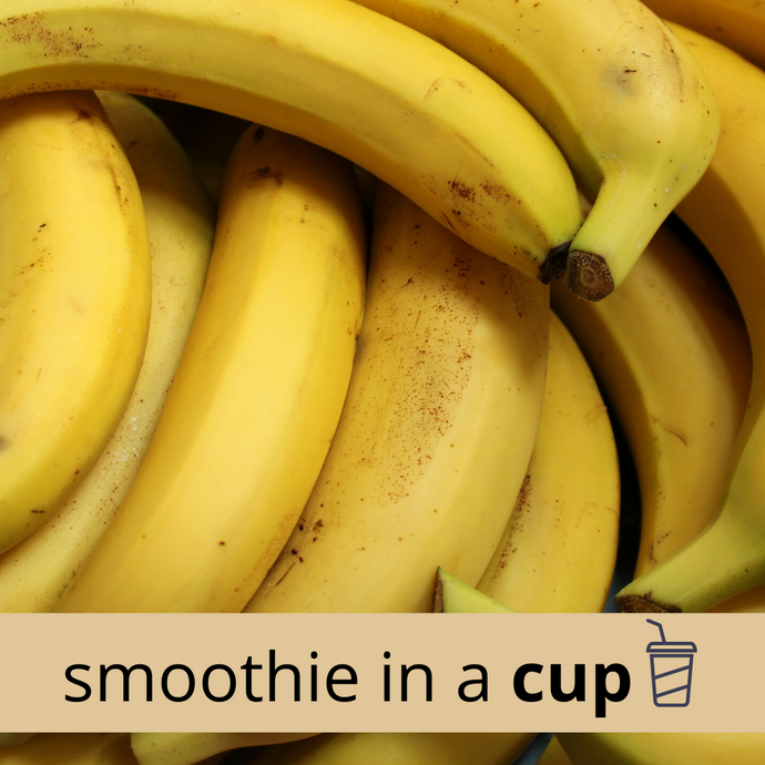 BANANA + DATE High Carb Smoothie in a Cup