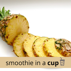 MANGO + PINEAPPLE  + KALE Classic Smoothie in a Cup