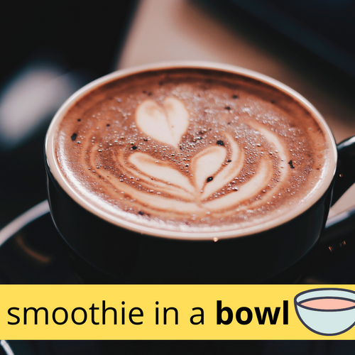 MOCHA Classic Smoothie in a Bowl