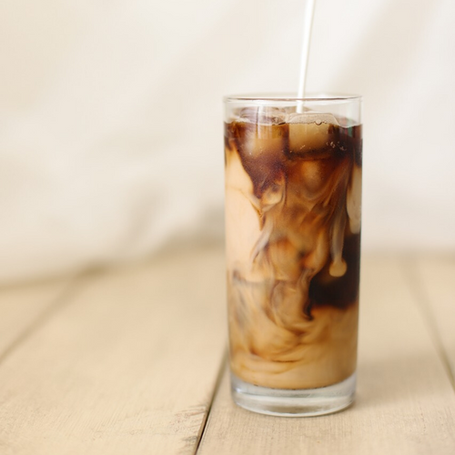 Iced Espresso Coffee with Milk
