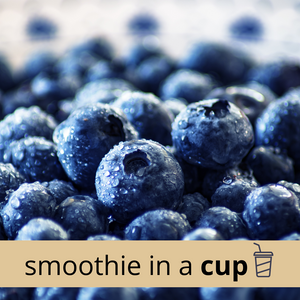 BLUEBERRY + MATCHA Classic Smoothie in a Cup