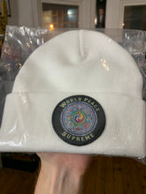 Load image into Gallery viewer, Supreme 'World Peace' Beanie Brand New