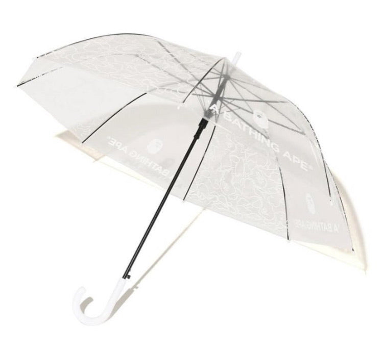 Bape Clear Camo Umbrella