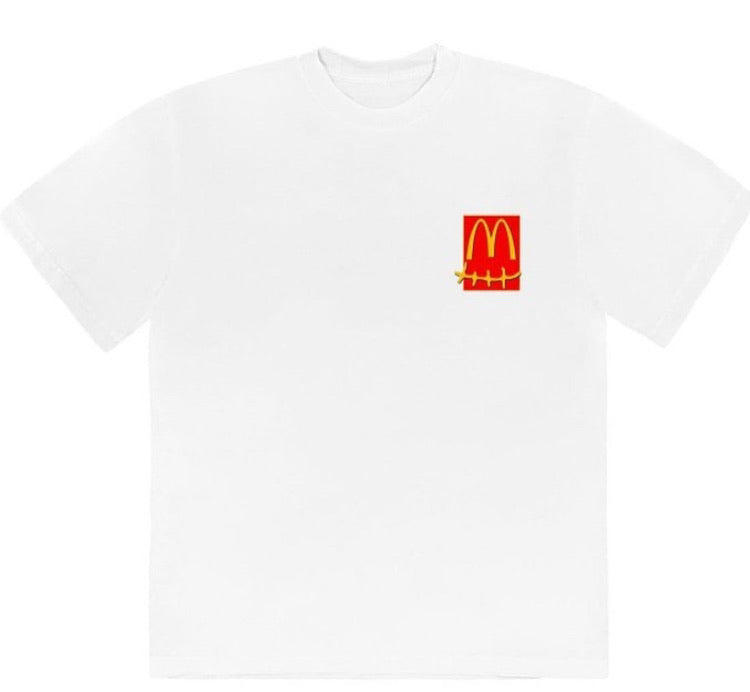 Travis Scott x McDonald's Action Figure tee (white)