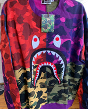 Load image into Gallery viewer, Bape Mixed Camo Crewneck