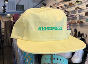 All Timers Deep Sea Hat (pale yellow)