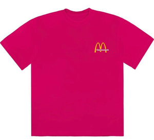 Travis Scott x McDonald's Vintage Action Figure tee (pink)