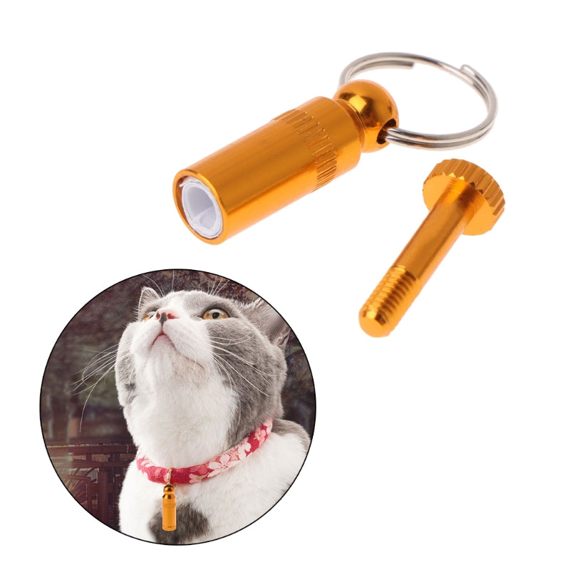 Anti Lost Pet Collar Accessories for Dog Cat ID Tag Name Address Phone Label Identity Hanging - petsprive.com