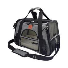 Load image into Gallery viewer, Carrier for Dogs Travel Cat Carrier Bag Breathable Car Seat Dog Carriers for Small Puppy Safety Reflective Portable Pet Handbag - petsprive.com