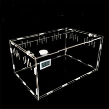 Load image into Gallery viewer, S/L Size Reptile Tank Insect Spiders Tortoise Lizard Acrylic Transparent Breeding Box Vivarium Lid Reptile Pet Product Terrarium - petsprive.com