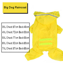 Load image into Gallery viewer, Dog Raincoat Jumpsuit Rain Coat for Dogs Pet Cloak Labrador Waterproof - petsprive.com