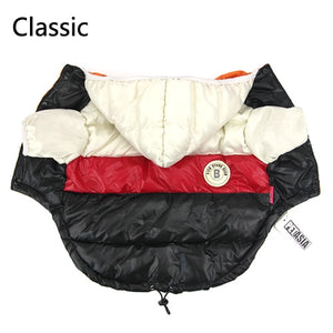 Autumn Winter Pet Clothes For Dogs Small Medium Big Dog Down Jacket Pets Clothing - petsprive.com